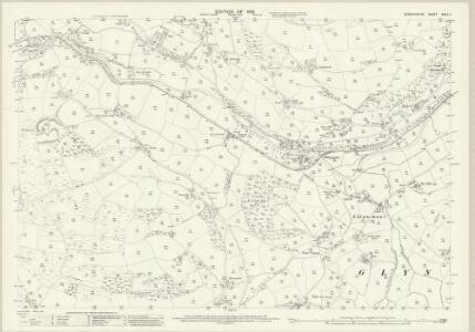Denbighshire XXXIX.11 (includes: Glyntraean; Llansanffraid Glynceiriog) - 25 Inch Map
