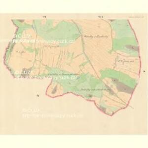 Woleschna Böhmisch (Woleschna Česka) - m0390-1-005 - Kaiserpflichtexemplar der Landkarten des stabilen Katasters