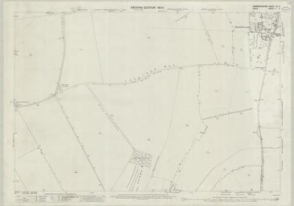 Cambridgeshire LIX.9 (includes: Chrishall; Duxford; Fowlmere; Great Chishill; Heydon) - 25 Inch Map