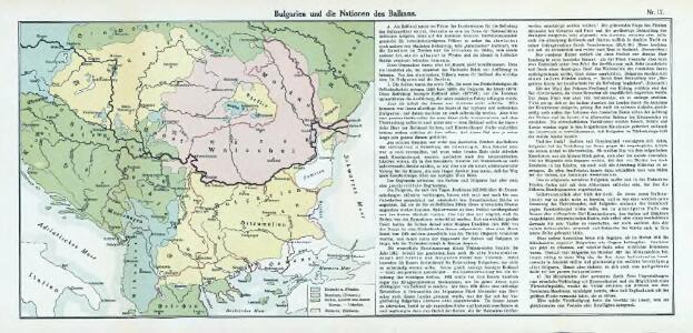 Nr. 17. Bulgarien und die Nationen des Balkans