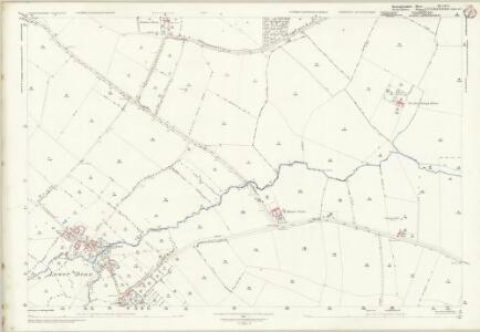 Huntingdonshire XX.2 & 1 (includes: Covington; Dean and Shelton; Hargrave; Melchbourne and Yelden; Tilbrook) - 25 Inch Map