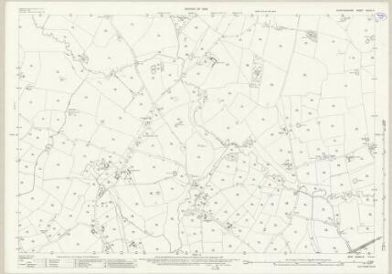 Staffordshire XXXVII.9 (includes: Ranton; Seighford) - 25 Inch Map