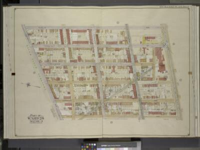 Brooklyn, Vol. 4, Double Page Plate No. 14; Part of   Ward 26; Sections 13; [Map bounded by Euclid Ave., Atlantic Ave.; Including Hale Ave., Jamaica Ave.]