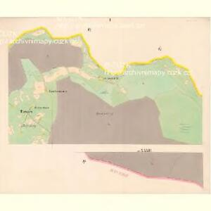 Neuofen - c5201-1-001 - Kaiserpflichtexemplar der Landkarten des stabilen Katasters