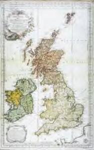 Carte réduite des isles Britanniques