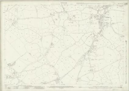 Surrey XVI.3 (includes: Chobham; Horsell) - 25 Inch Map