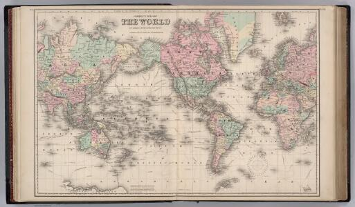 World in Mercator's Projection.