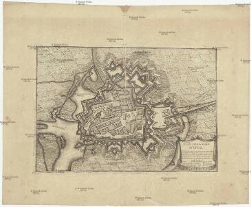 Plan de la ville d'Ipre