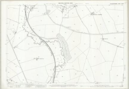 Gloucestershire XXXV.3 (includes: Compton Abdale; Shipton; Withington) - 25 Inch Map