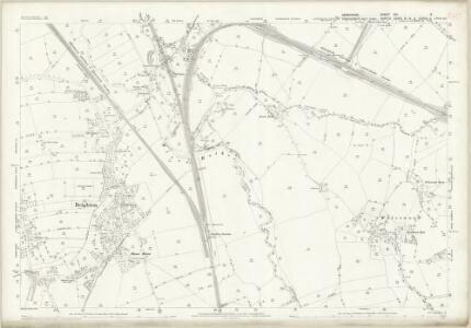 Derbyshire XIII.5 (includes: Aston cum Aughton; Beighton; Wales) - 25 Inch Map