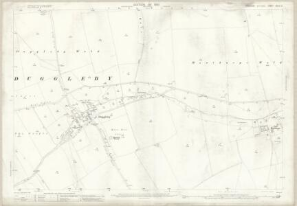 Yorkshire CXLIII.2 (includes: Kirby Grindalythe; Wharram) - 25 Inch Map
