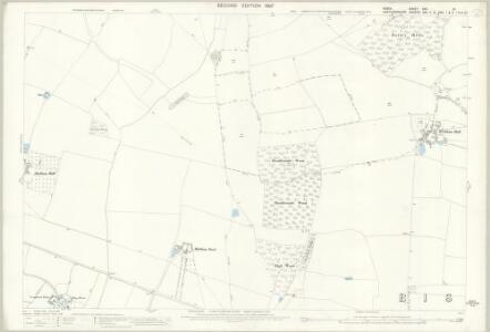 Essex (1st Ed/Rev 1862-96) XXII.10 (includes: Albury; Bishops Stortford; Farnham; Little Hadham) - 25 Inch Map