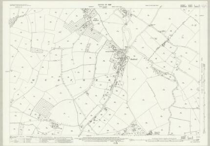 Dorset V.6 (includes: Chilton Cantelo; Mudford; Trent) - 25 Inch Map