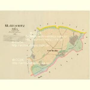 Kl. Hitschitz - c4395-1-001 - Kaiserpflichtexemplar der Landkarten des stabilen Katasters