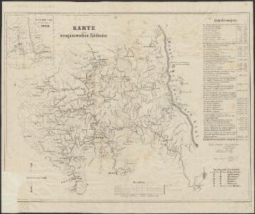 Karte der stroganowschen Erbländer