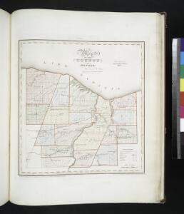 Map of the county of Monroe / by David H. Burr; engd. by Rawdon, Clark & Co., Albany, & Rawdon, Wright & Co., N.Y.; An atlas of the state of New York: containing a map of the state and of the several counties / by David H. Burr.