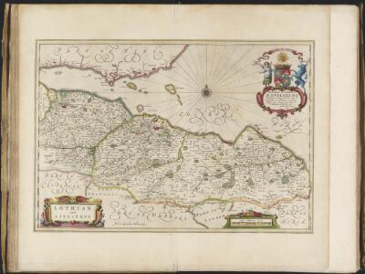 Lothian and Linlitquo / Joh. et Cornelius Blaeu exc.