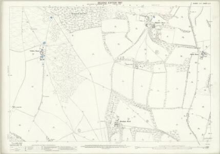 Sussex LI.9 (includes: Findon; Sullington; Washington) - 25 Inch Map