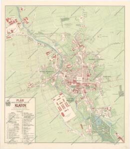Plán královského města Klatov