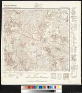 Meßtischblatt 4653 : Spreefurt, 1943