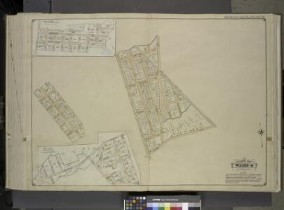 Queens, Vol. 1, Double Page Plate No. 30; Part of     Ward 4; Sub Plan From Plate Nos. 18 and 19; [ Map bounded by Farmers Ave.,       Emerson St., Hawthorn St., 1st St., 2nd St., 3rd St., 4th St., 5th St., 6th St., 7th St.; Including New York Ave., N