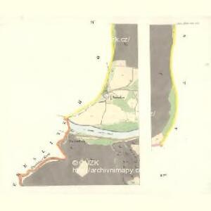 Moldautein - c8143-1-004 - Kaiserpflichtexemplar der Landkarten des stabilen Katasters