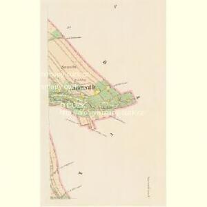 Kaiserwalde - c0761-2-005 - Kaiserpflichtexemplar der Landkarten des stabilen Katasters