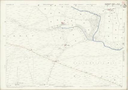 Devon XVI.10 (includes: Molland; West Anstey; Withypool) - 25 Inch Map