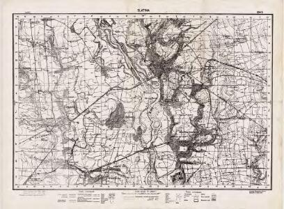Lambert-Cholesky sheet 3343 (Slatina)