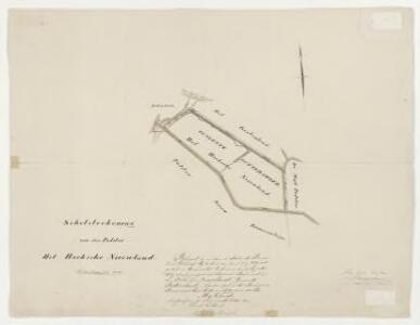 Polder het Hoeksche Nieuwe Land, gemeente Puttershoek en 's-Gravendeel.