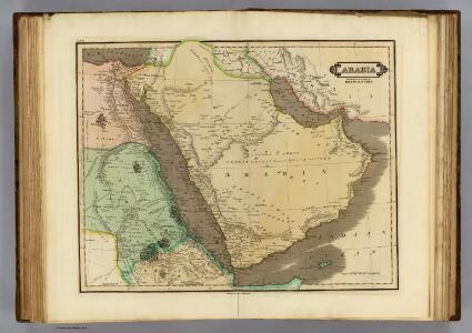 Arabia, Egypt, Nubia.