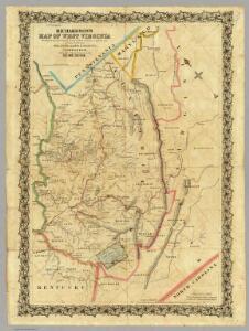 Richardson's Map Of West Virginia.
