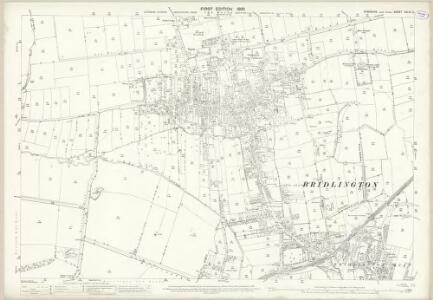 Yorkshire CXLVI.2 (includes: Boynton; Bridlington) - 25 Inch Map