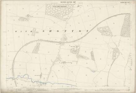 Durham XLVII.1 (includes: Langleydale And Shotton; Marwood; Raby With Keverstone) - 25 Inch Map