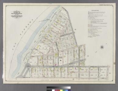 Double Page Plate No. 19: [Bounded by 92nd Street, Third Avenue, 91st Street, Fifth Avenue, 86th Street, Fort Hamilton Avenue (Smith Avenue) and (Proposed Bay Ridge Parkway) Narrows Avenue.]