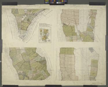 Dutch Era Land Grants in Stokes Iconography sheet with Greenwich Village & Lower Manhattan.