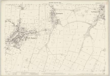 Leicestershire X.1 (includes: Castle Donington; Kegworth; Lockington Hemington; Long Whatton) - 25 Inch Map