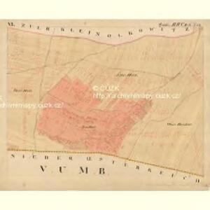 Joslowitz - m1044-1-007 - Kaiserpflichtexemplar der Landkarten des stabilen Katasters