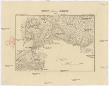 Plan obloženija kr. Varny 1828