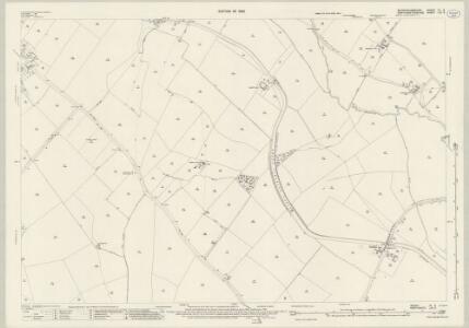 Buckinghamshire IX.2 (includes: Castlethorpe; Cosgrove; Hanslope; Potterspury; Yardley Gobion) - 25 Inch Map