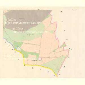 Zales (Zalesy) - c9104-1-002 - Kaiserpflichtexemplar der Landkarten des stabilen Katasters