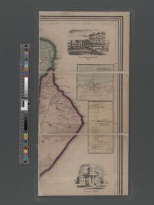 Map of Staten Island, Richmond County, New York City, from surveys under the direction of H. F. Walling.