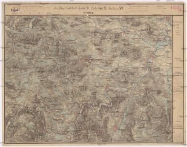 Gradkartenblatt