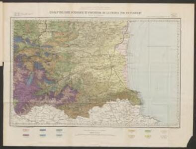Essai d'une carte botanique et forestière de la France