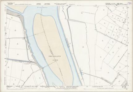 Yorkshire CCLIV.1 (includes: Adlingfleet; Alkborough; Garthorpe; Ousefleet) - 25 Inch Map