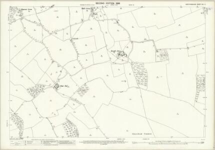 Hertfordshire XIII.5 (includes: Clothall; Graveley; Walkern; Weston) - 25 Inch Map