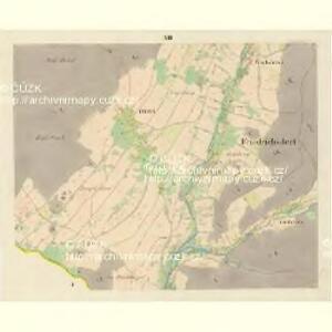 Friedrichsdorf - m0045-1-011 - Kaiserpflichtexemplar der Landkarten des stabilen Katasters