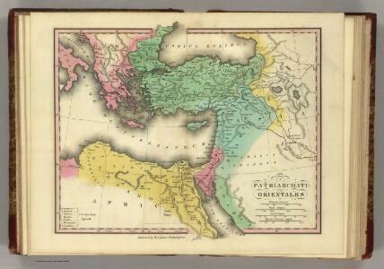 Patriarchati Orientales.  (1826)