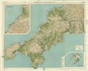 Cornwall, Sheet 37  - Bartholomew's