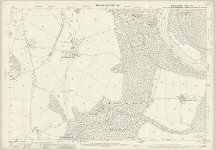 Monmouthshire XXVI.5 (includes: Devauden; St Arvans; Tidenham; Tintern) - 25 Inch Map